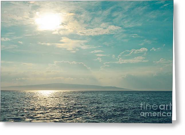 Opalescent Greeting Cards - Paako Beach Iridescence Greeting Card by Sharon Mau