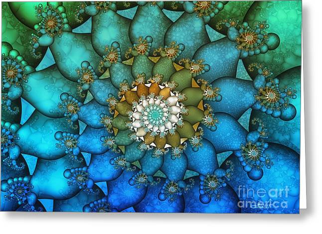 Repetition Greeting Cards - Pace of Life Greeting Card by Jutta Maria Pusl