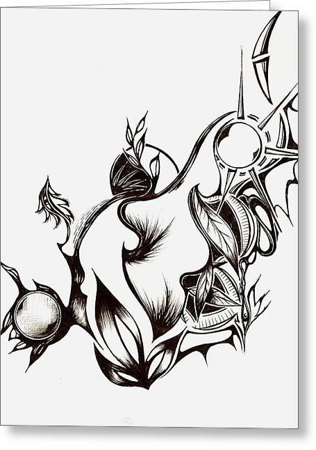 Andrea Carroll Greeting Cards - Pachamama Greeting Card by Andrea Carroll