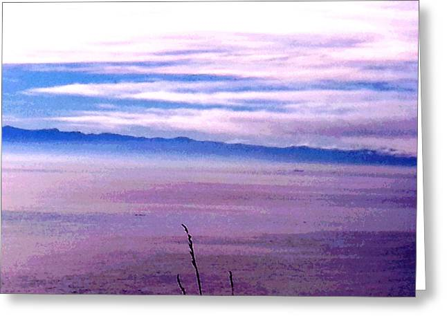 Pacific Ocean Prints Greeting Cards - Pacific Blue 11 Greeting Card by Nikki Dalton