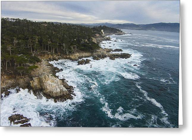 Big Sur Beach Greeting Cards - Pacific Coast Greeting Card by David Levy
