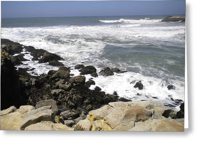 Big Sur Greeting Cards - Pacific Coast Highway 012 Greeting Card by Ron Schreiner