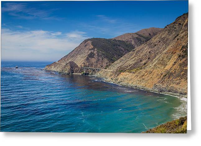 Big Sur Greeting Cards - Pacific Coast Highway Greeting Card by  Carlos Cano