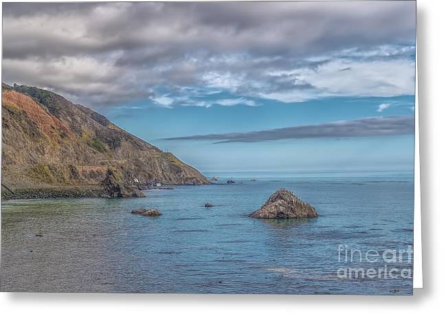 Us1 Greeting Cards - Pacific Coast Greeting Card by Michael  Miliano