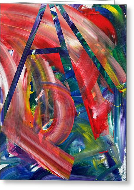 Abstract Expression Greeting Cards - Pacific Edge Greeting Card by Richard Day