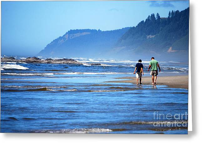 Recently Sold -  - Pacific Ocean Prints Greeting Cards - Pacific Musing Greeting Card by Thomas Zuber