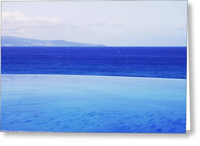 Ocean Photography Greeting Cards - Pacific Ocean, Maui, Hawaii, Usa Greeting Card by Panoramic Images
