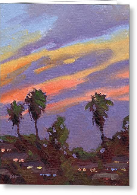 Bixby Bridge Greeting Cards - Pacific Sunset 1 Greeting Card by Konnie Kim