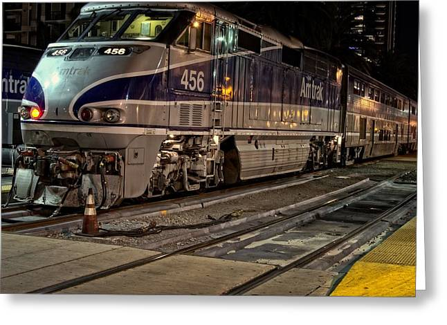Hazard County Greeting Cards - Pacific Surfliner 4-5-6 Greeting Card by See My  Photos