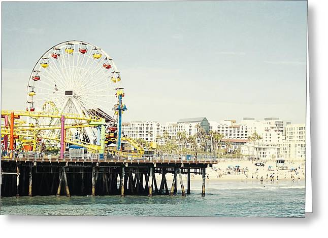 California Ocean Photography Greeting Cards - Pacific Wheel  Greeting Card by Bree Madden