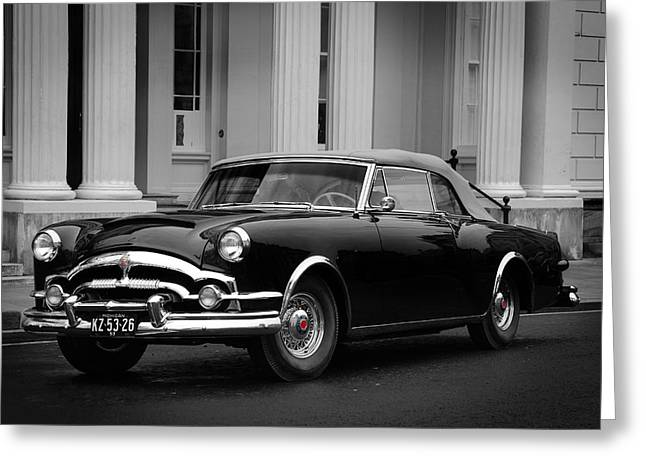Car Greeting Cards - Packard Caribbean Greeting Card by Mark Rogan