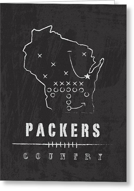 Lambeau Field Greeting Cards - Packers Country 2 Greeting Card by Damon Gray