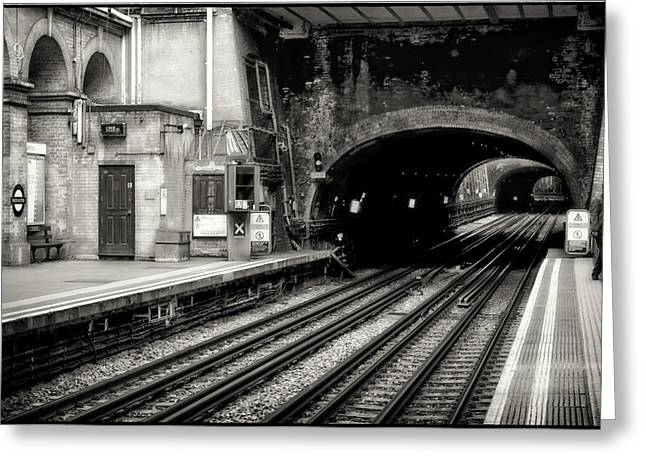 Print Photographs Greeting Cards - Paddington Grunge Greeting Card by Joan Carroll