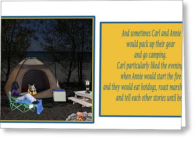 Lawn Chair Digital Art Greeting Cards - Page 12 Greeting Card by Jennifer Schwab