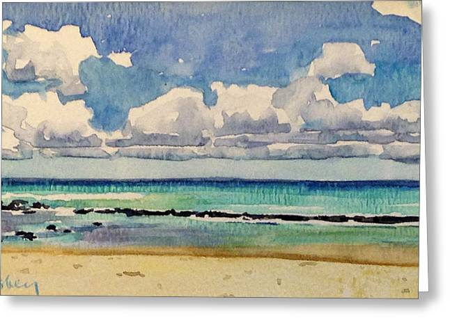 Stacy Vosberg Greeting Cards - Paia Maui Greeting Card by Stacy Vosberg