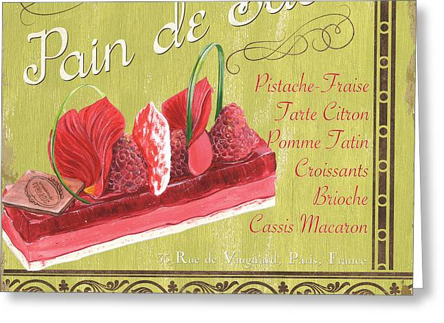 Pastries Greeting Cards - Pain de Sucre 2 Greeting Card by Debbie DeWitt