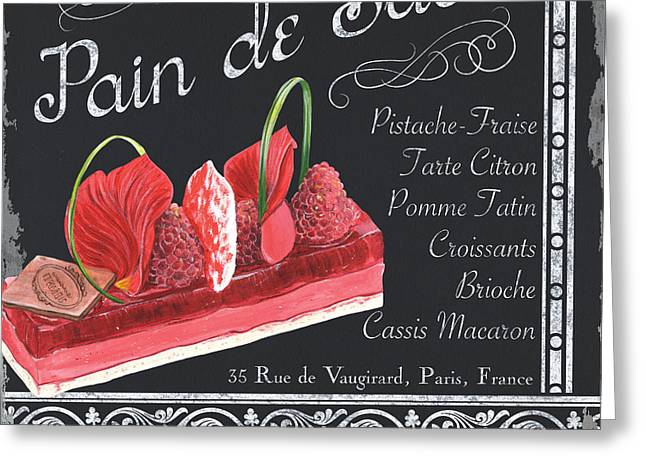 Pastries Greeting Cards - Pain de Sucre Greeting Card by Debbie DeWitt