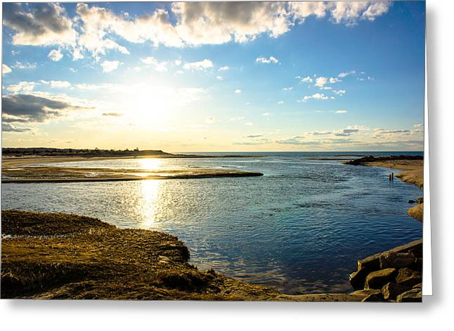 Cape Cod Mass Greeting Cards - Paines Creek  Greeting Card by Jose Cruz