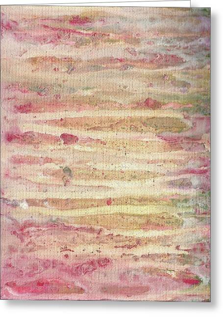 Lisa Noneman Greeting Cards - Paint Drips 3 Greeting Card by Lisa Noneman