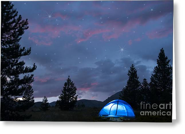 Beauty In Nature Greeting Cards - Paint the Sky with Stars Greeting Card by Juli Scalzi