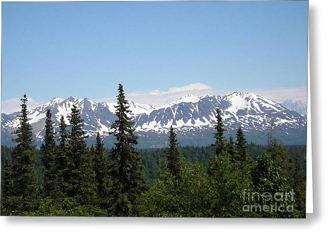 Nashville Tennessee Greeting Cards - Painted Alaska Greeting Card by Joseph Baril