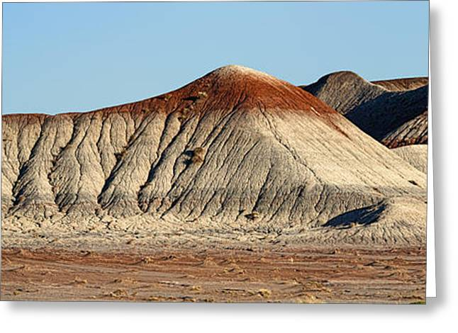 Paint Photograph Greeting Cards - Painted Desert Hills Page 2 of 5 Greeting Card by Gregory Scott