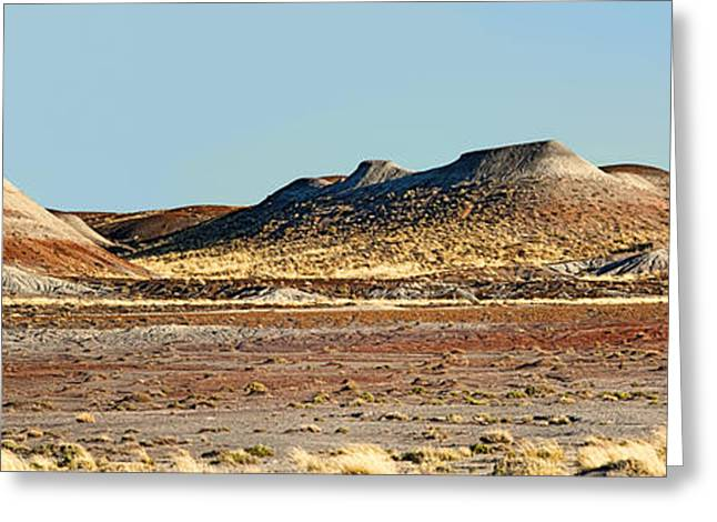 Paint Photograph Greeting Cards - Painted Desert Hills Page 3 of 5 Greeting Card by Gregory Scott