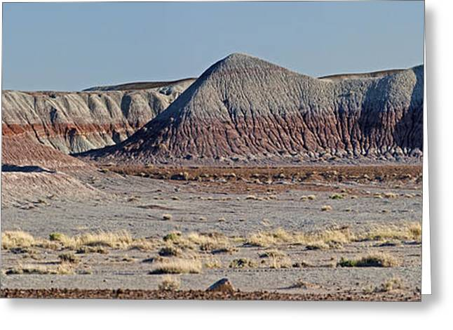 Paint Photograph Greeting Cards - Painted Desert Hills Page 5 of 5 Greeting Card by Gregory Scott
