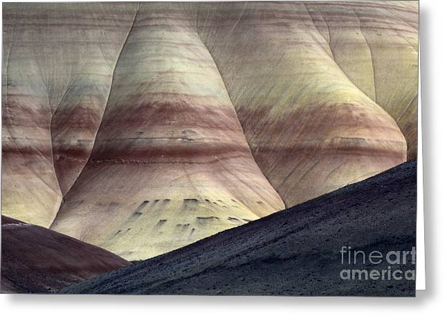 Canadian Photographer Greeting Cards - John Day Painted Hills Oregon 10 Greeting Card by Bob Christopher