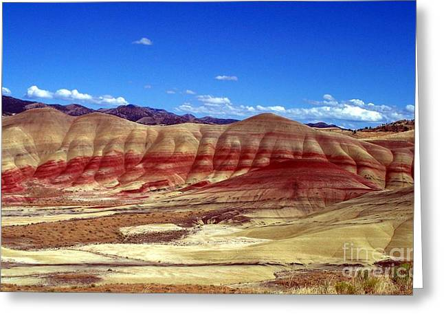Neurotic Images Photography Greeting Cards - Painted Hills Greeting Card by Chalet Roome-Rigdon