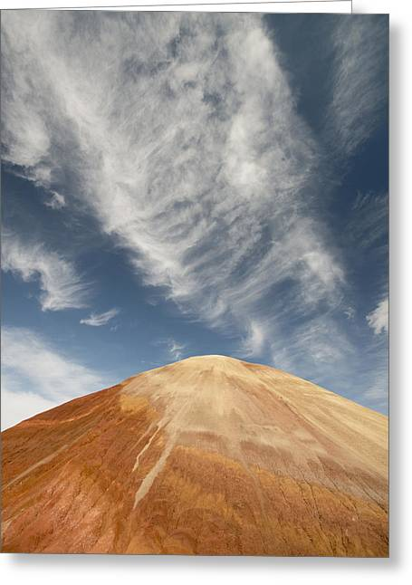 Paint Photograph Greeting Cards - Painted Hills John Day Nm Oregon Greeting Card by Kevin Schafer