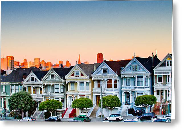 Bill Gallagher Photography Greeting Cards - Painted Ladies Greeting Card by Bill Gallagher