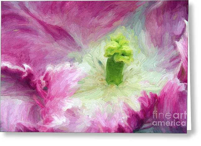 Paint Effect Greeting Cards - Painted Lady Greeting Card by Paul W Faust -  Impressions of Light