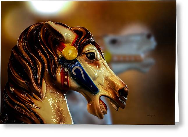 Surreal Fantasy Horse Fine Art Greeting Cards - Painted Pony  Greeting Card by Bob Orsillo