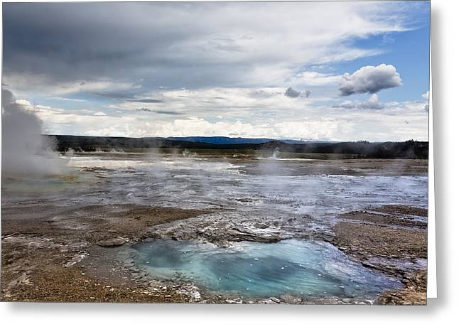 Famous Photographer Greeting Cards - Paint Pots Greeting Card by Belinda Greb