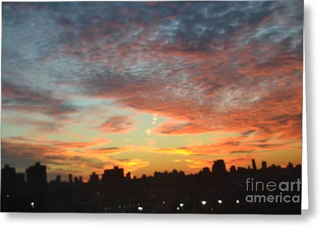 Robert Daniels Photographs Greeting Cards - Painted Skies II Greeting Card by Robert Daniels