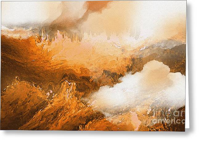 - Storm Over The Mountains Greeting Card by Sherri  Of Palm Springs