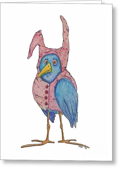 Best Sellers -  - Pajamas Greeting Cards - Pajamas Greeting Card by Jennifer Geldard