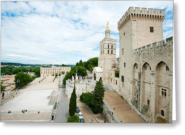 Incidental People Greeting Cards - Palace In A City, Musee Du Petit Greeting Card by Panoramic Images