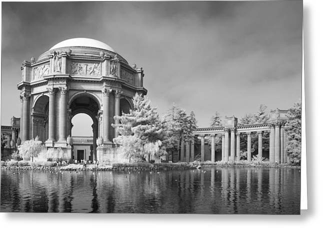 San Francisco Bay Greeting Cards - Palace of Fine Arts Greeting Card by Bill Gallagher