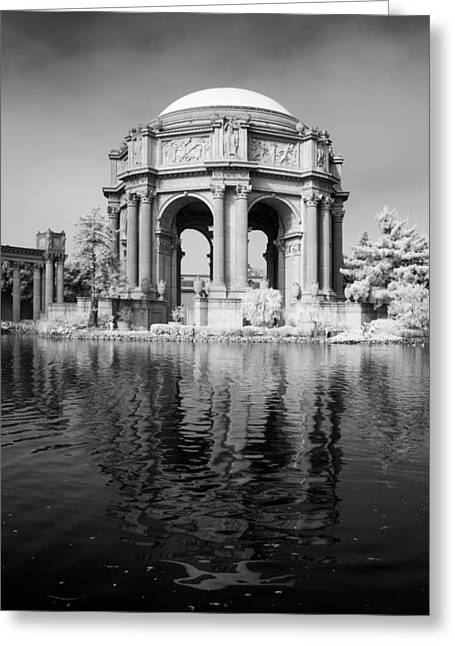 San Francisco Bay Greeting Cards - Palace of Fine Arts II Greeting Card by Bill Gallagher