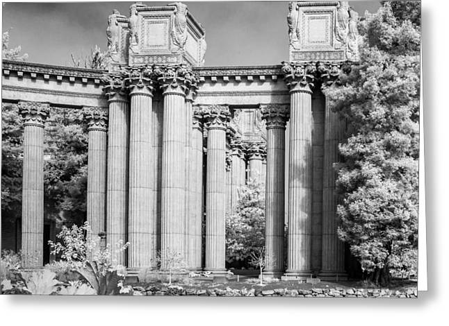 San Francisco Bay Greeting Cards - Palace of Fine Arts III Greeting Card by Bill Gallagher