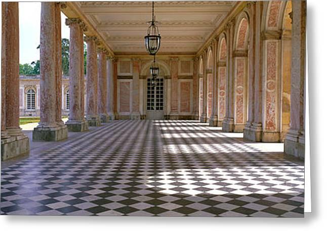 Palace Of Versailles Palais De Greeting Card by Panoramic Images
