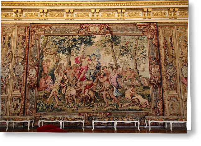 Palace Greeting Cards - Palace of Versailles - Paris France - 011350 Greeting Card by DC Photographer