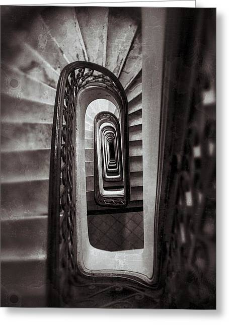 Buenos Aires Gifts Greeting Cards - Palacio Barolo Staircase Buenos Aires Greeting Card by For Ninety One Days