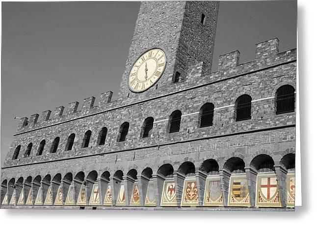 Royal Family Arts Greeting Cards - Palazzo Vecchio at Florense Greeting Card by Aleksandar Hajdukovic