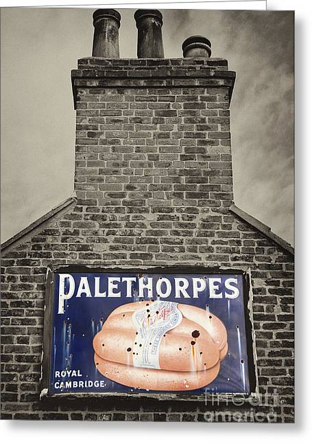 Hoarding Greeting Cards - Palethorpes  Greeting Card by Rob Hawkins