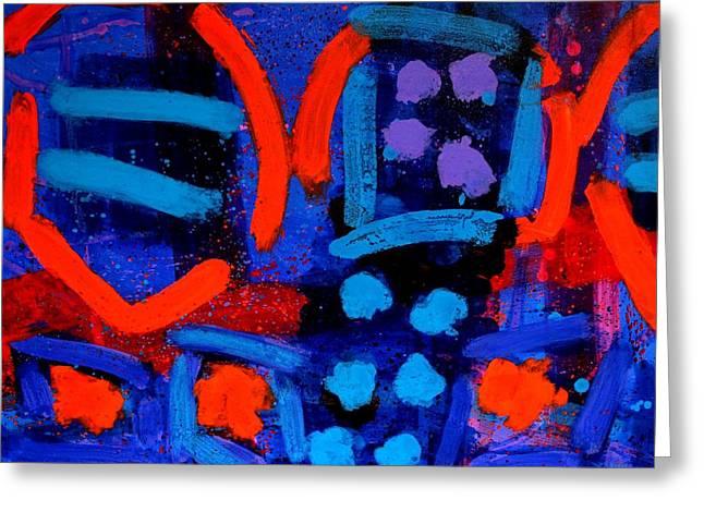 Edge Greeting Cards - Palimpsest 006 Greeting Card by John  Nolan