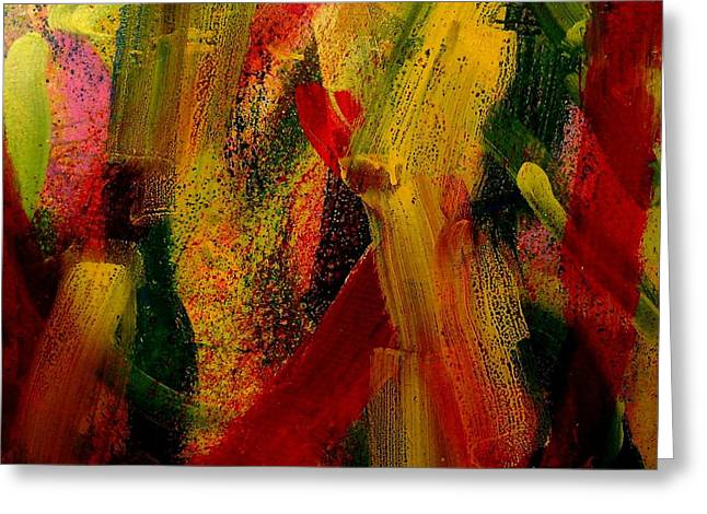 Abstract Movement Greeting Cards - Palimpsest 52 Greeting Card by John  Nolan
