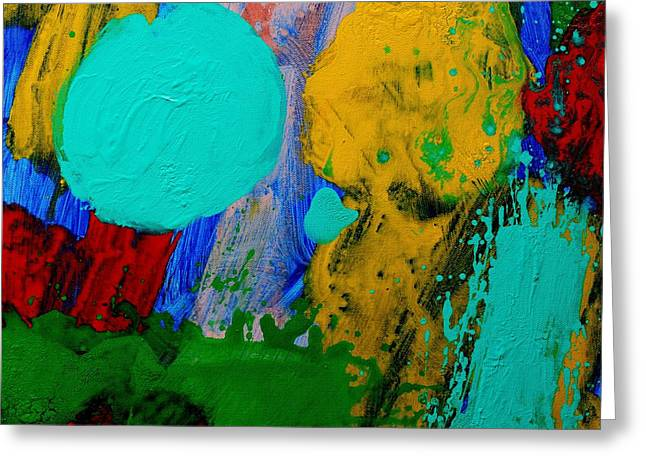 Abstract Movement Greeting Cards - Palimpsest III Greeting Card by John  Nolan